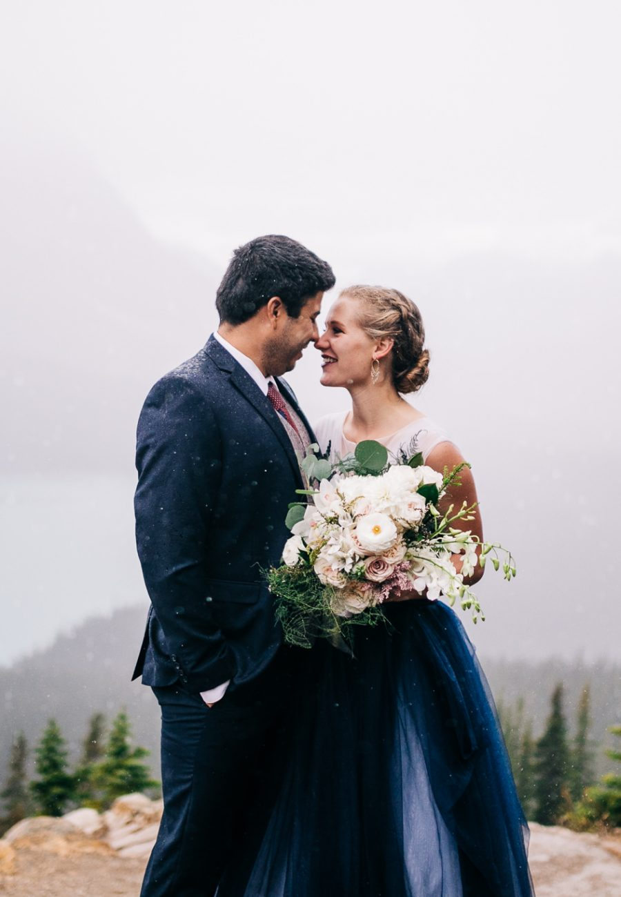 Peyto Lake Elopement, Banff Photographer, Elopement, Rocky Mountain, Cedar Lane Weddings