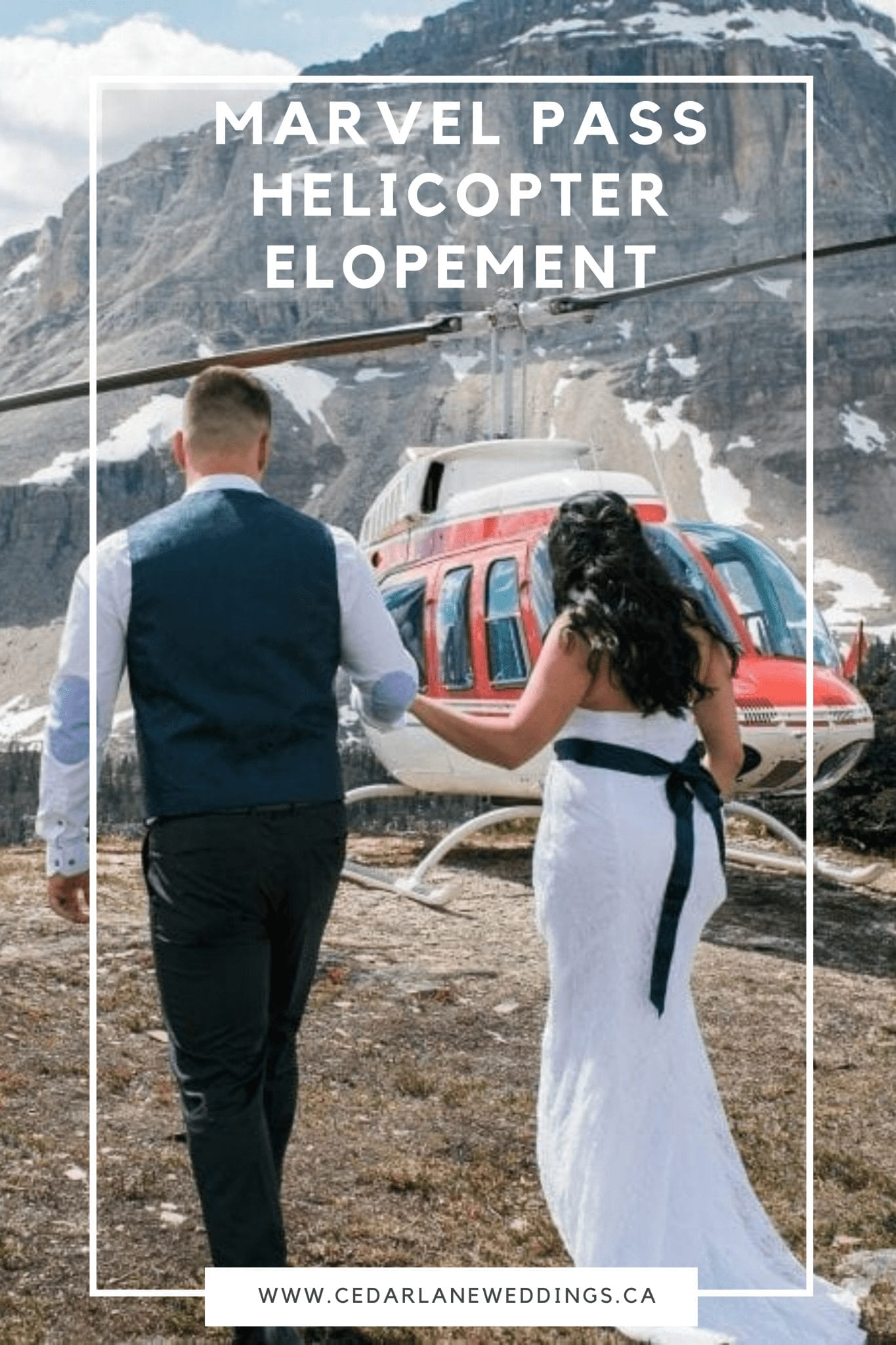 Marvel Pass Helicopter Elopement