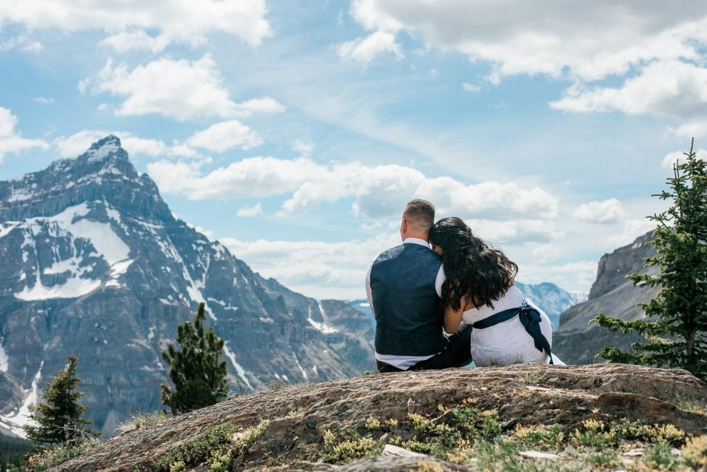 Banff Wedding Photographer, Helicopter Elopement, Canmore, Calgary, Alberta, Edmonton, Elopement Photography