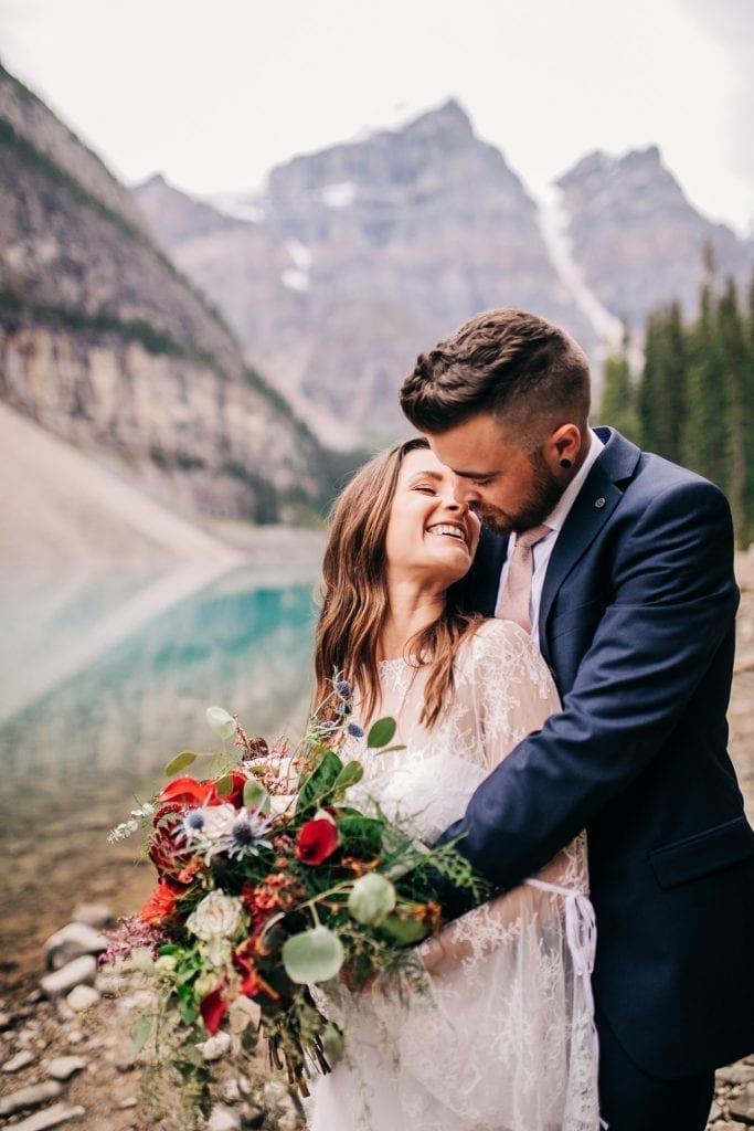 Moraine Lake, Banff Wedding Photographer, Cedar Lane Weddings