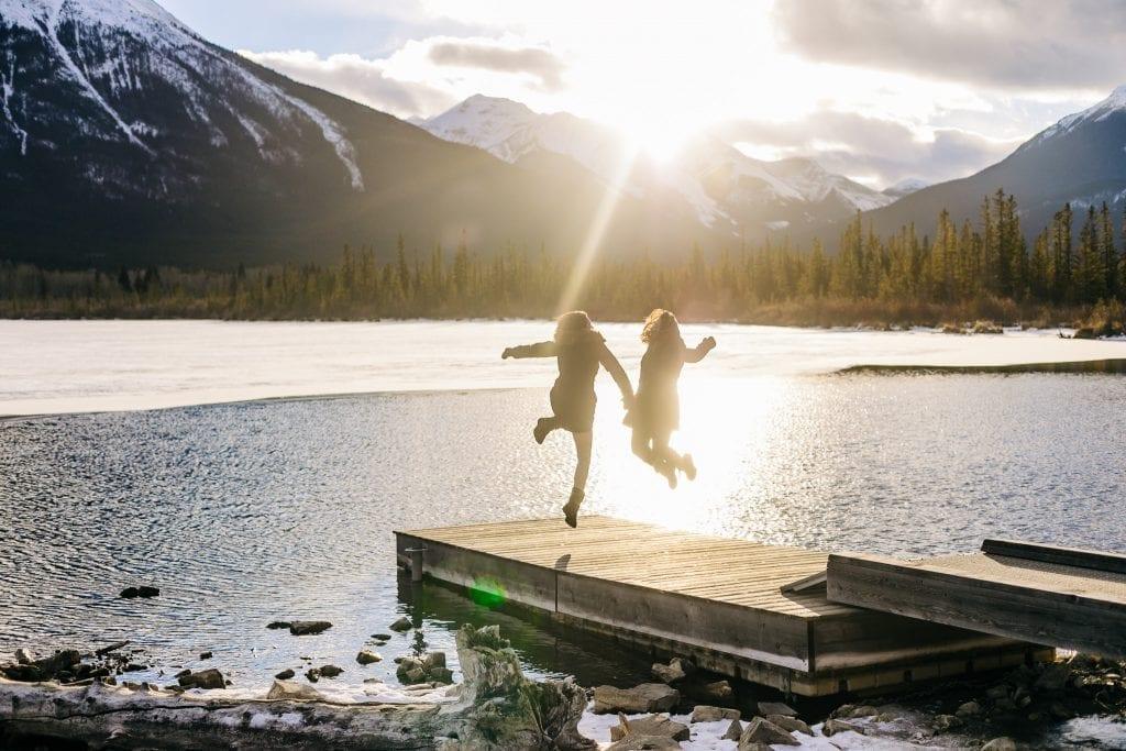 Same sex Banff Photographer