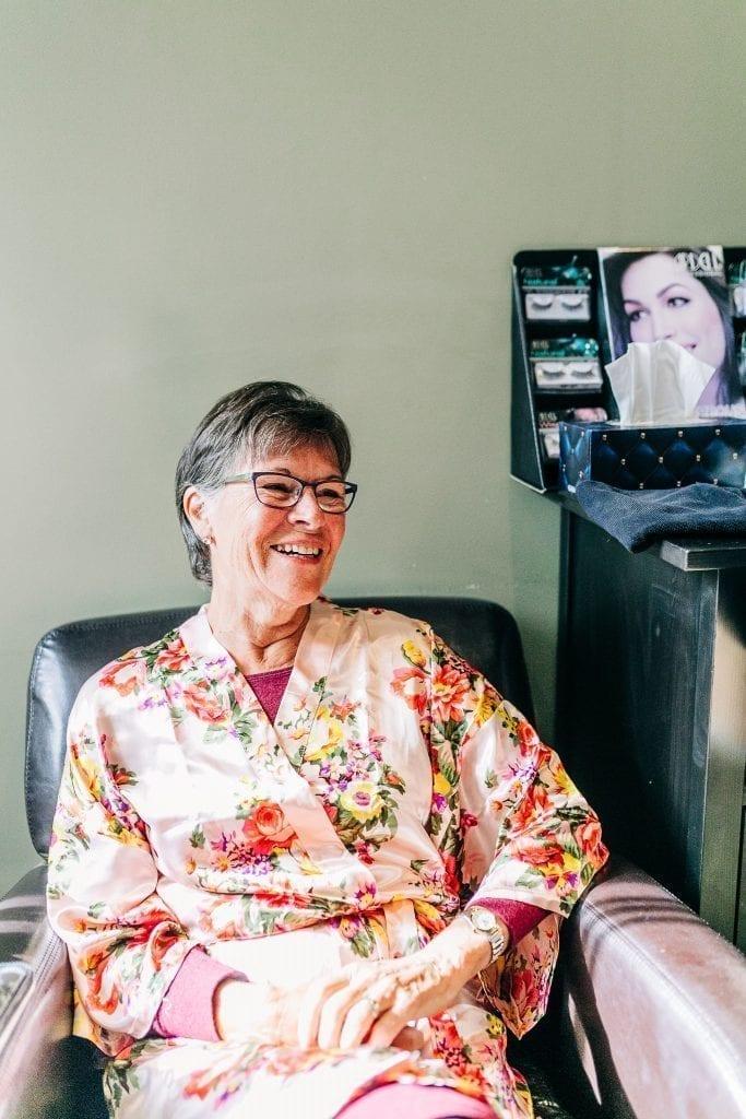 Mom of the bride photo