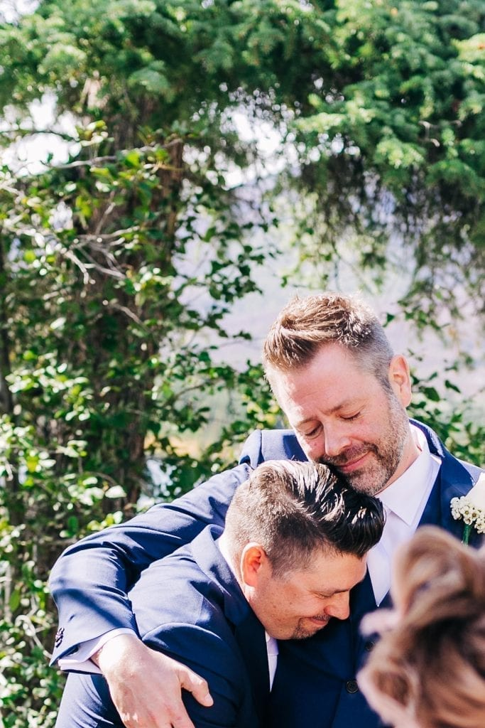 best man and groom happy friends photos