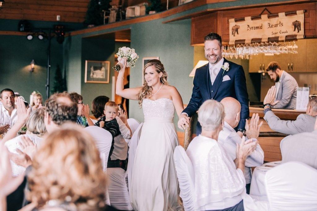 Bride and Groom Grand Entrance Photos