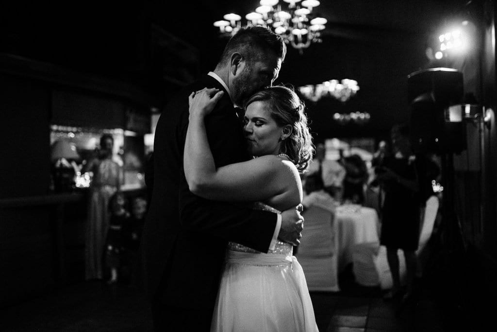 Emotive and romantic first dance photos