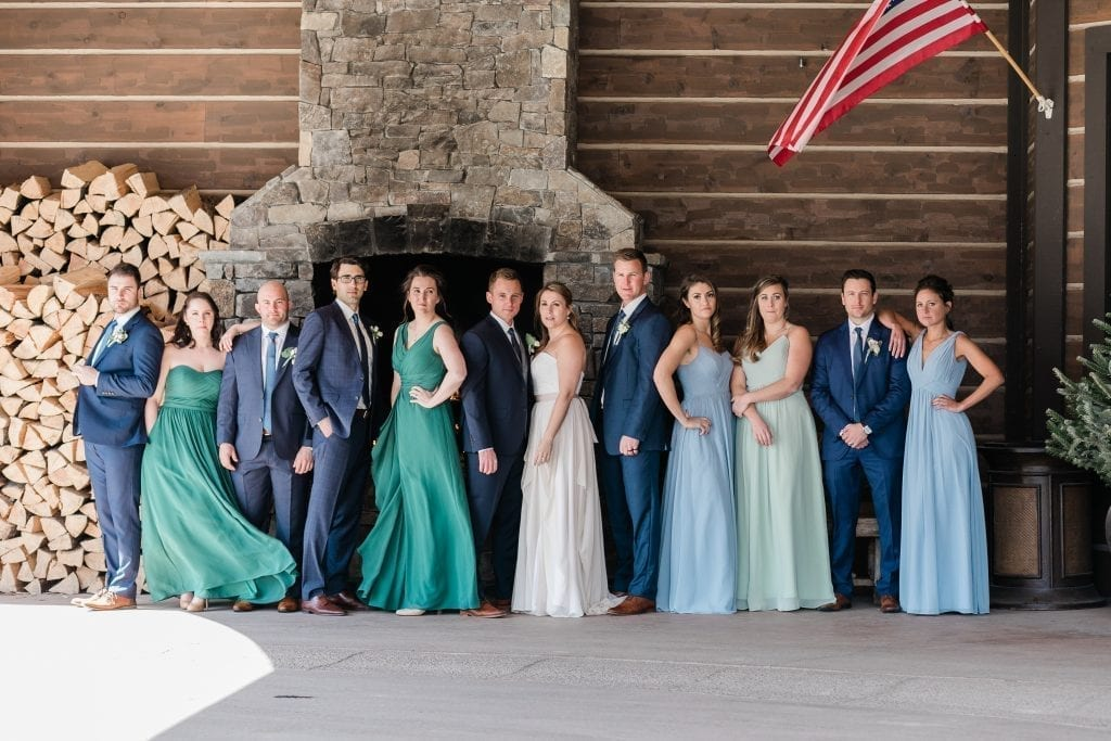 Lodge at Whitefish Wedding