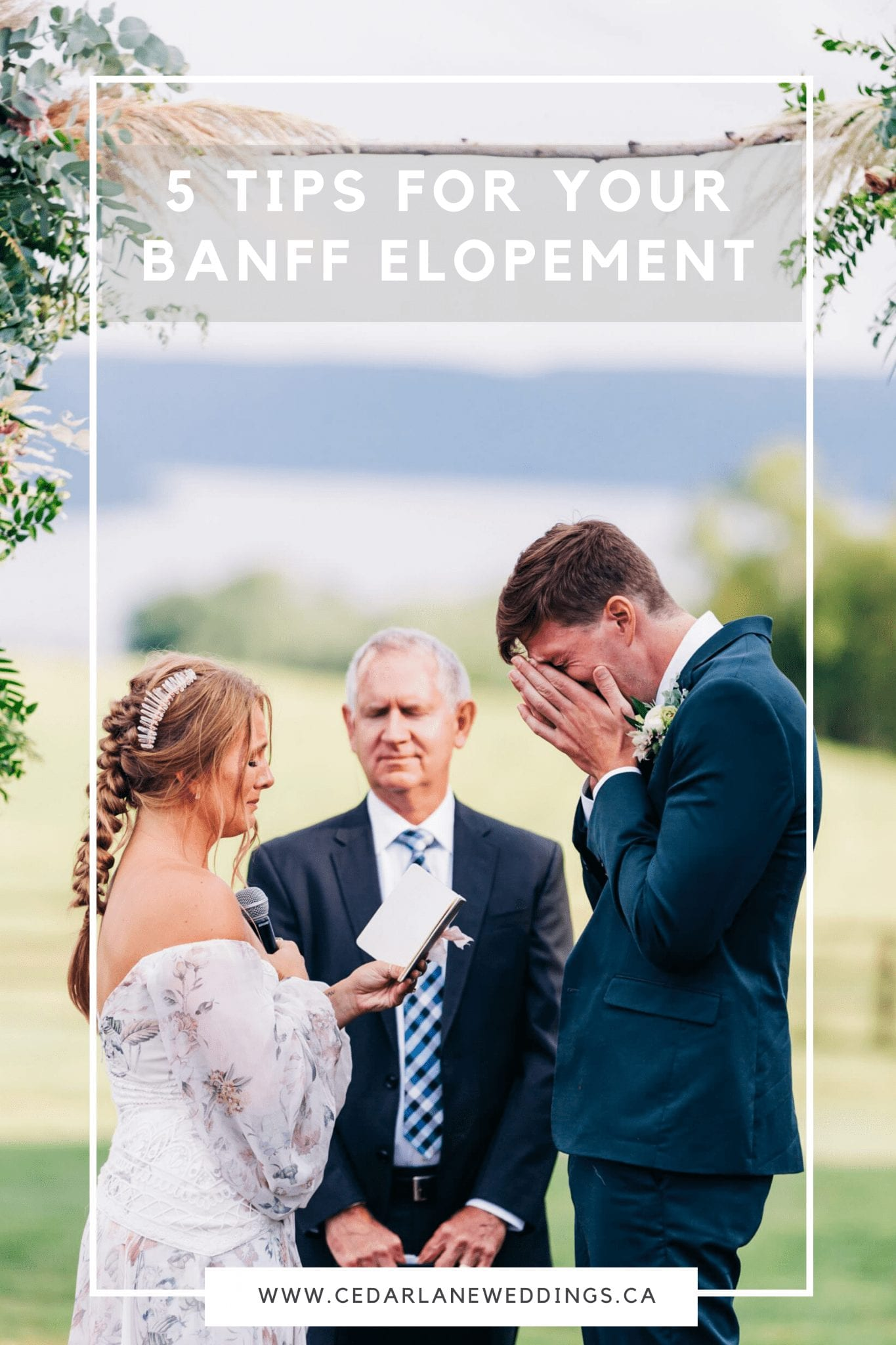 5 Tips for Your Banff Elopement