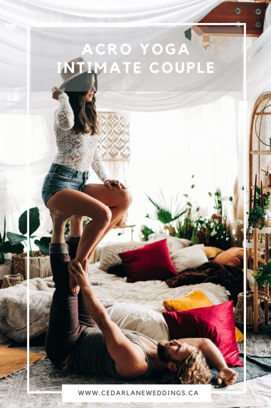 Acro Yoga Intimate Couple